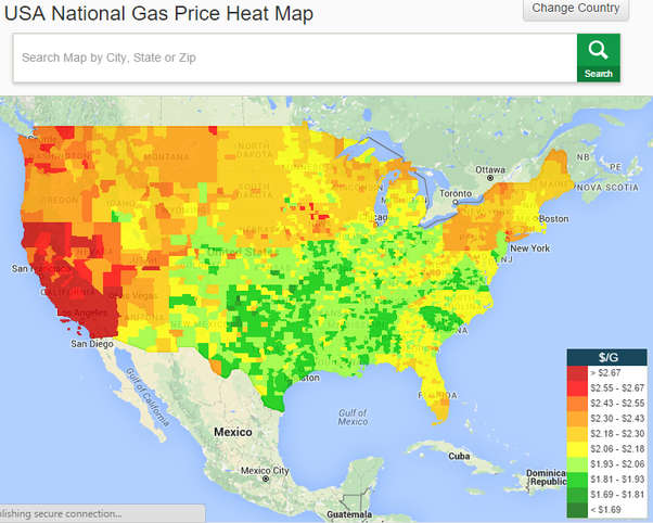 Columbus Gas Prices >> What Are The Gas Prices Like In Columbus Quora