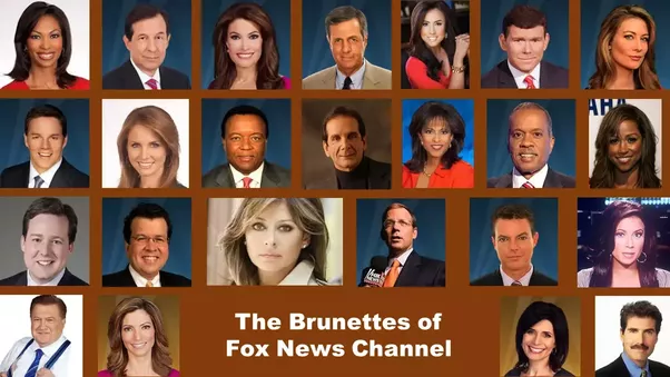 Why does fox news only hire blondes
