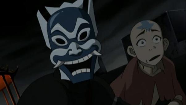 Blue Spirit's true identity