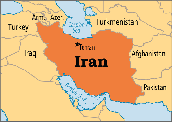 How many countries does iran border quora according to google to my own knowledge and to this map iran borders 7 countries them being iraq turkey armenia azerbaijan turkmenistan gumiabroncs Gallery