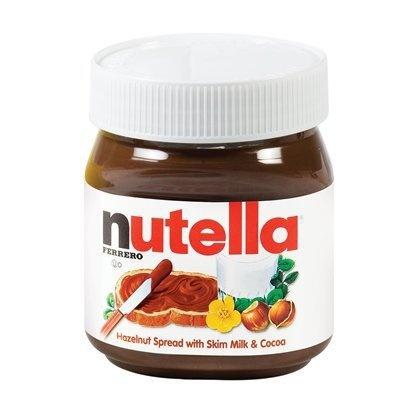 Nutella Jar Shaped Cake