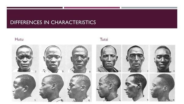 How did the Rwanda Hutu's identify who were Tutsis, Bantus ...