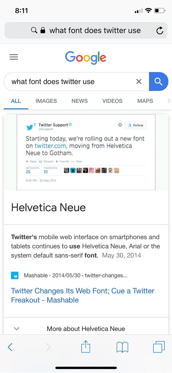 What is the Twitter tweet font? - Quora