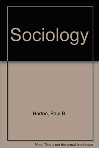 How to download the PDF version of Sociology by Paul Horton