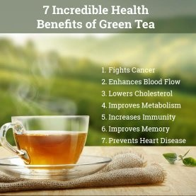 Does drinking green tea twice a day cause any health issue