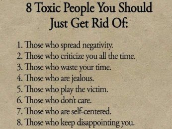 Are toxic people what Toxic People: