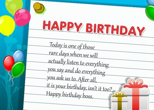 If You Want More Birthday Wishes For Your Boss Then Please Click On The Link Above