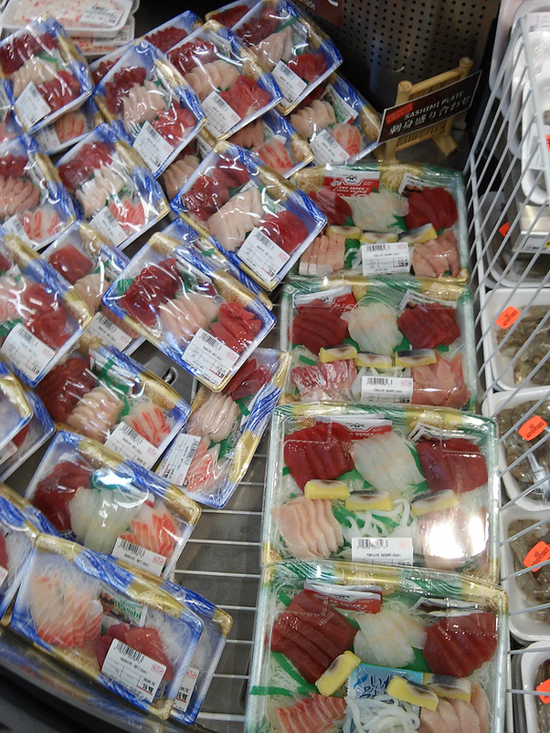 Where do you find sashimi grade fish near palo alto ca for Sushi grade fish near me