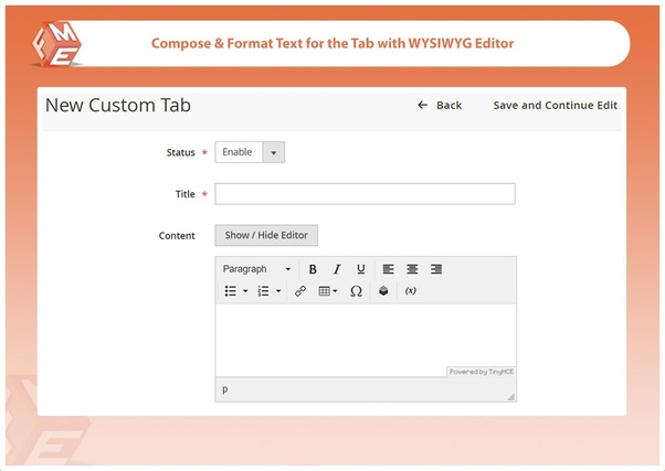 How to add an additional custom tab in Magento 2's product