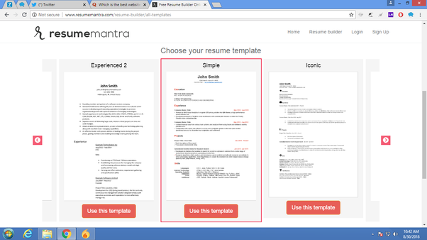 What Are Some Great Websites For Building Resumes Quora