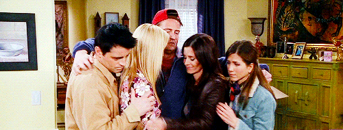 """when do monica and chandler first hook up Lisa kudrow and matt leblanc dish on why phoebe and joey never """"at monica's you can eat cookies over the why didn't phoebe and joey ever hook up."""