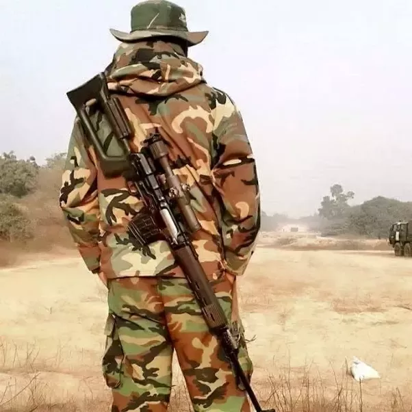What is the equipment given to a sniper in Indian army ...