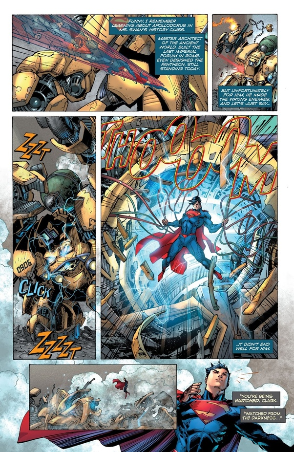 What super power does Superman have but rarely uses? - Quora