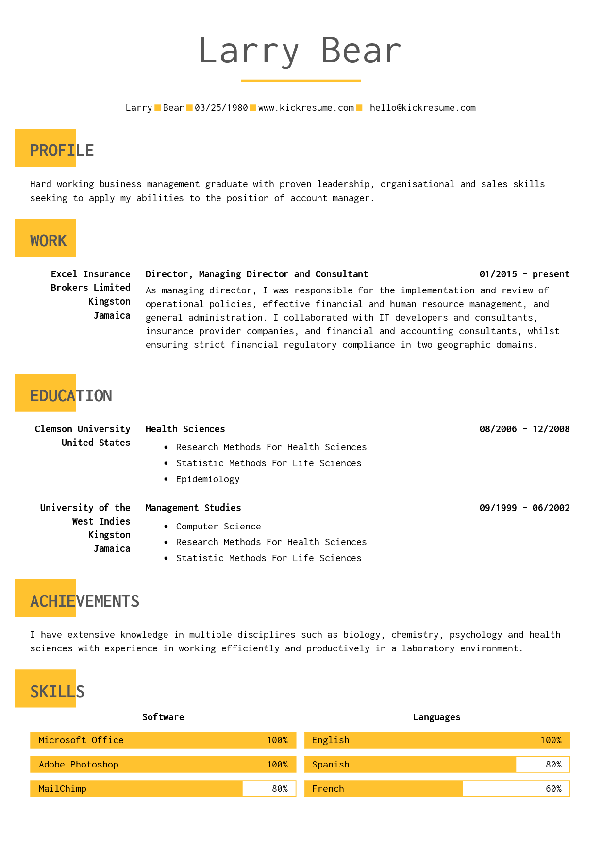 what are the best typefaces to use in a resume quora