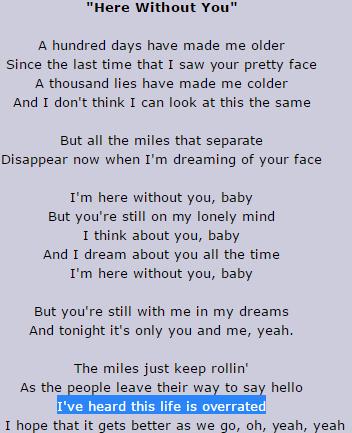 Lyrics love your love the most