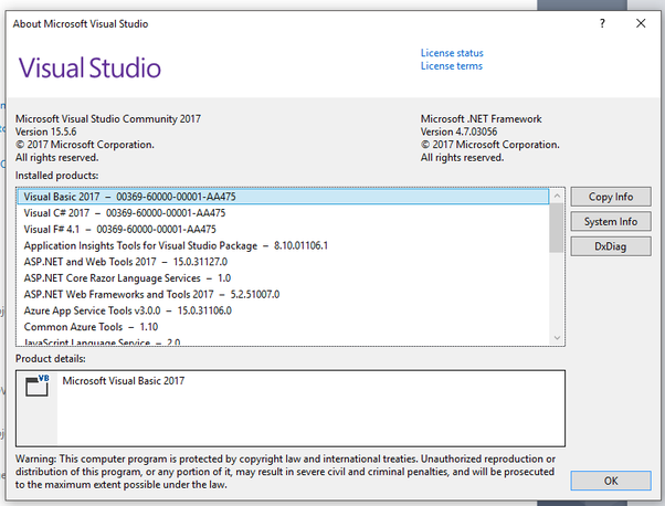 Why can I not create my SQL database in the Visual Studio