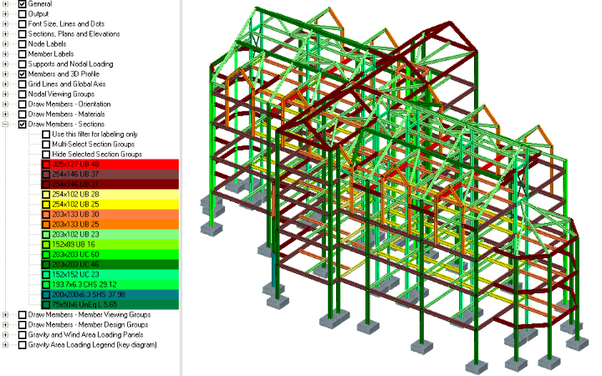 Do structural engineering consultancies in the UK use the SAP2000