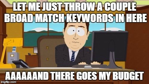 common adwords mistakes