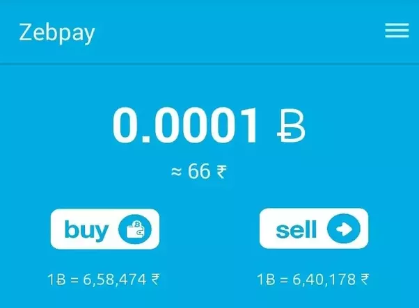 Is it possible to buy bitcoin or any other cryptocurrency from one at this particular instance buying bitcoin on zebpay is cheaper than buying it on unocoin so lets say you bought some amount of bitcoins from zebpay ccuart Choice Image