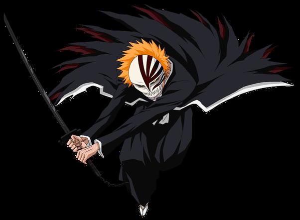 In the anime 39 bleach 39 what are the transformations that ichigo has quora - Ichigo vizard mask ...