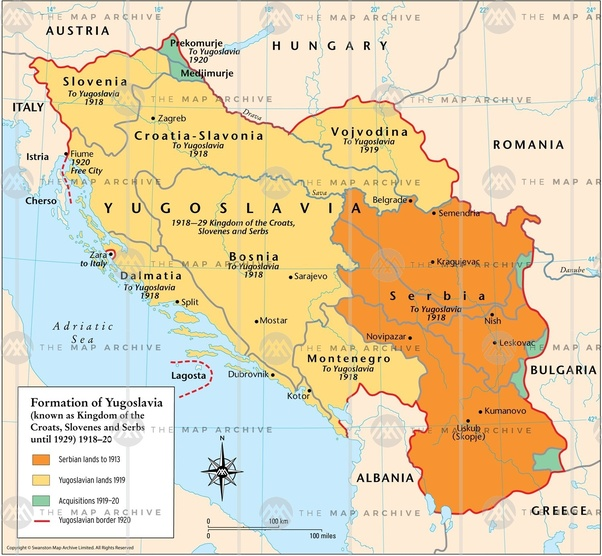 How does greater serbia look like quora in 1939 after the merger of croatian territories in the banovina of croatia realizing mostly greater croatia the same was supposed to be done for gumiabroncs Choice Image