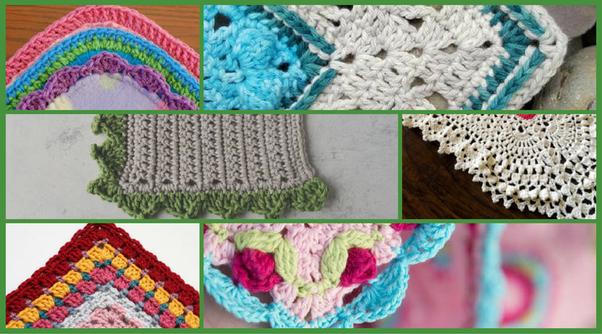 How To Make Easy Crochet Edges Quora