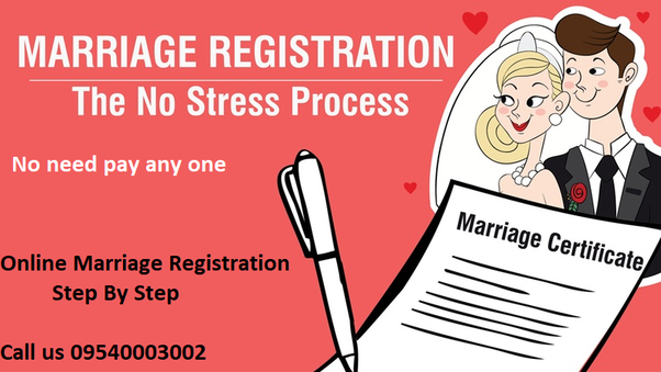 Can we apply for marriage certificate online? - Quora