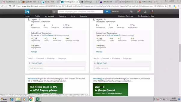 how to see who shared your post on linkedin