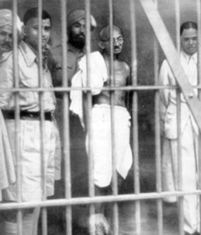 How many years was Gandhi in prison? - Quora