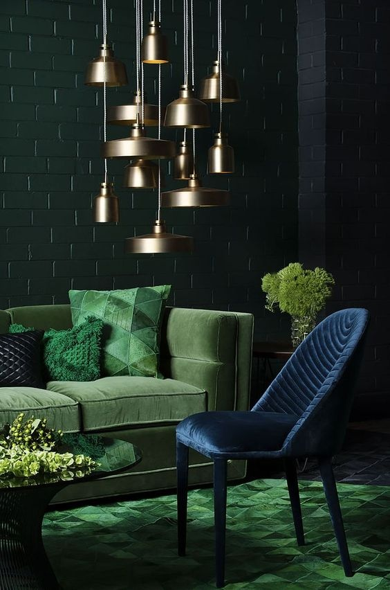 Green Living Room Designs: What Colors Should I Use In My Living Room With A Dark