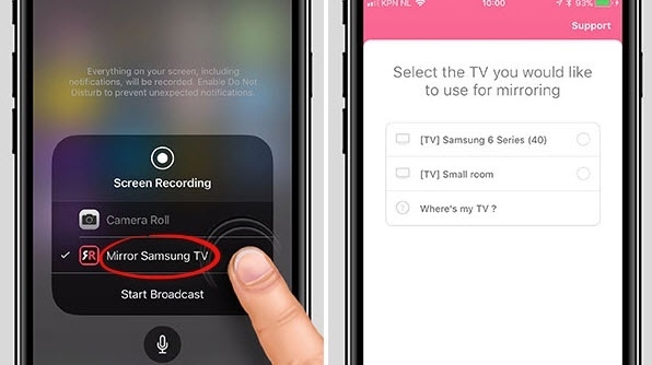how to connect smart tv to iphone how to do screen mirroring from iphone to my samsung smart 1486