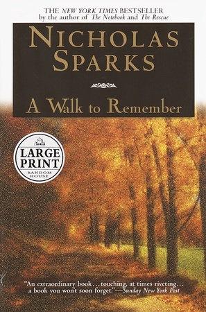 A Walk to Remember (novel) - Wikipedia
