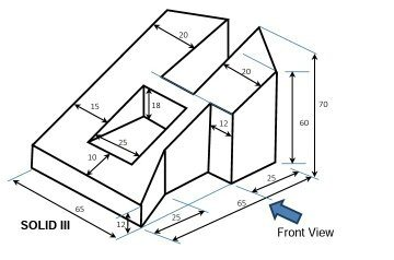 difference between isometric and orthographic projection pdf