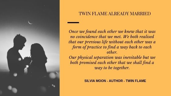 What can you tell about twin flames who are married to other