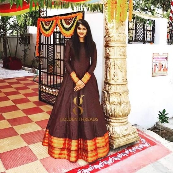 How Do L Make A Traditional Ethnic Wear From An Old Silk Saree Of