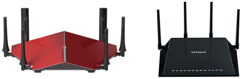 Which router is better? Netgear Nighthawk X4S AC2600, or, D