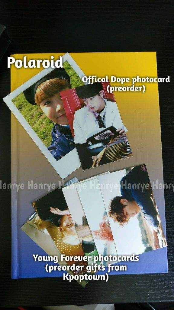 Real Bts Photocards