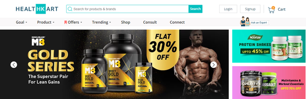 What are the trusted sites to buy gym supplements in India