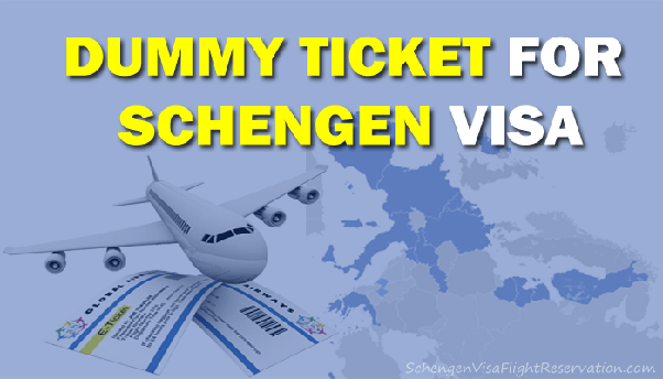 How to get dummy air ticket done for visa without involving travel all schengen visa applications require you to submit proof of return flight reservations whether this is in the form of a ticket you intend to use thecheapjerseys Choice Image