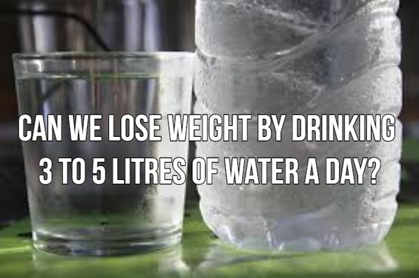 How long should i drink water to lose weight