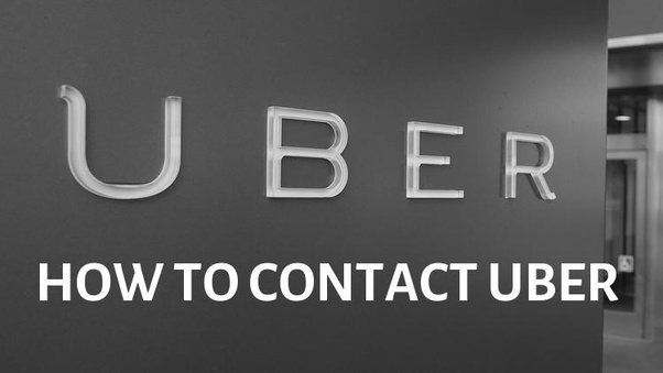 How To Reach Uber Customer Service Do They Have A Phone Number