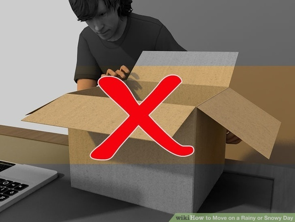 Boxes Can Be Damaged Very Easily By The Rain And Snow So Be Sure To Protect  Them Well. First, Use Only Clean And Strong Boxes For Your Packing.