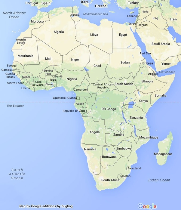 Is Africa an island or a continent Quora