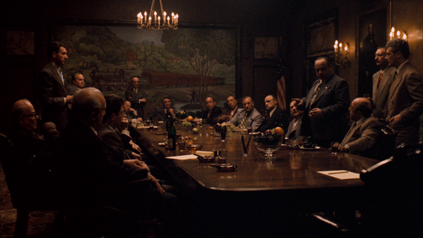 In the godfather who are the five families and how are they the commission consisting of all the powerful mafia families altavistaventures Gallery