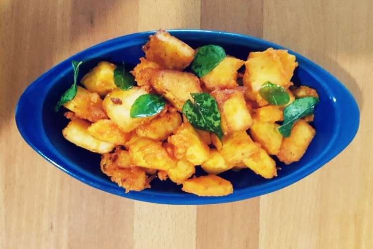 Crispy paneer fry
