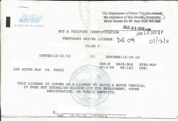 California Dmv-issued Instruction Permit - WordPress.com