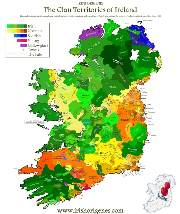 Map Of Ireland Heritage Sites.Are There Any Heritage Maps Of Ireland Those Showing Where