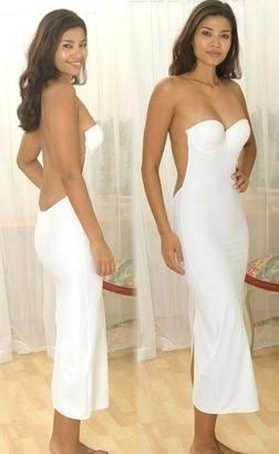 24e0c757583f Do you feel vulnerable when wearing strapless/backless dress as your ...