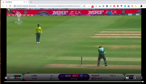 I Wish To Watch Icc Cricket World Cup 2019 Via Hotstar In