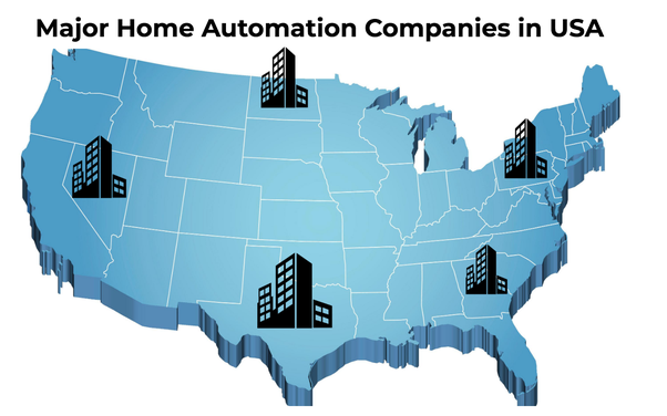 What are the major players in home automation in the U S